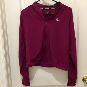 Nike Dri-Fir cropped lightweight jacket M
